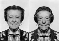 Louise Bourgeois (diptych) by Jiří David contemporary artwork photography