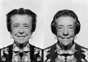 Louise Bourgeois (diptych) by Jiří David contemporary artwork