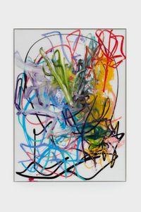 Yellow Hen by Aaron Garber-Maikovska contemporary artwork painting