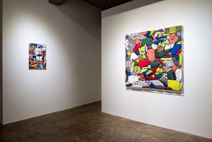 Exhibition view: David Shrigley / Teppei Kaneuji, Yumiko Chiba Associates, Tokyo (2 June–11 July 2020). Courtesy Yumiko Chiba Associates.