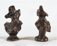 Victoire de Samothrace, 2ème version, modèle A et B by Diego Giacometti contemporary artwork sculpture