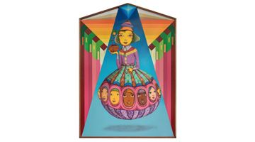 Contemporary art exhibition, OSGEMEOS, Portal at Lehmann Maupin, New York
