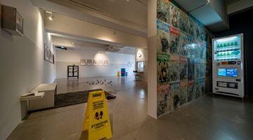 Contemporary art exhibition, Ching Chin Wai Luke, Glitch in the Matrix at Para Site, Hong Kong