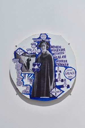 Hard-Medaillon 1 by Thomas Hirschhorn contemporary artwork