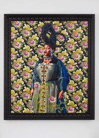 Wanda Crichlow (Portrait of Catharina Both van der Eem) by Kehinde Wiley contemporary artwork painting
