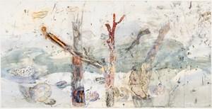 The hidden territories of the Mangrove worm mollusc - Arafura Sea by John Wolseley contemporary artwork