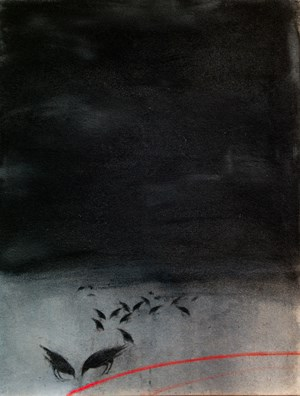 Night by Vladimir Veličković contemporary artwork