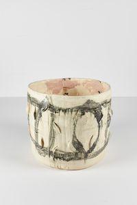Untitled Large Planter 9 by Rashid Johnson contemporary artwork ceramics