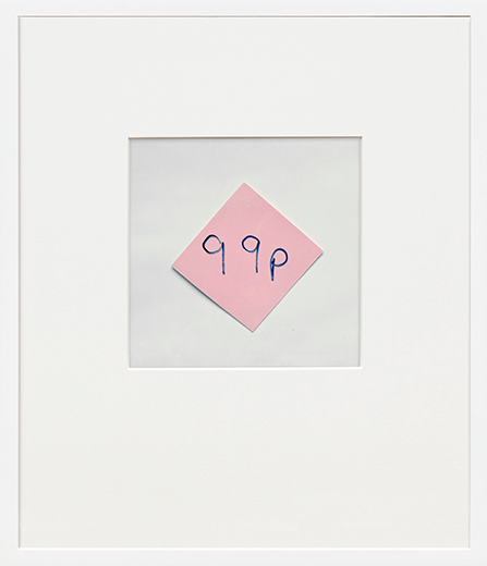 Notes, Lables Borrowed/Stolen by Keith Arnatt contemporary artwork