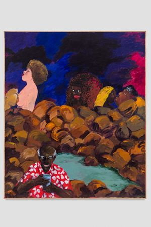 Maya by Robert Colescott contemporary artwork