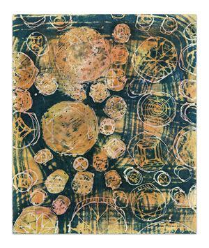 Heavenly Diamonds by Zhivago Duncan contemporary artwork textile