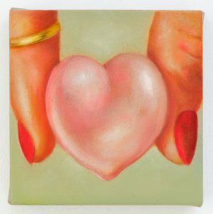 Gummy Heart by Tao Siqi contemporary artwork
