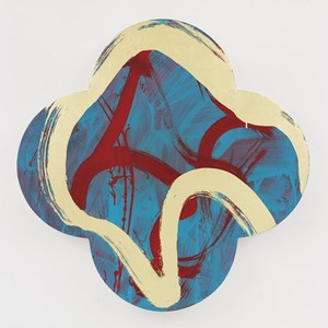 Running Still by Max Gimblett contemporary artwork