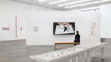 Contemporary art exhibition, Geta Brătescu, The Power of the Line at Hauser & Wirth, London