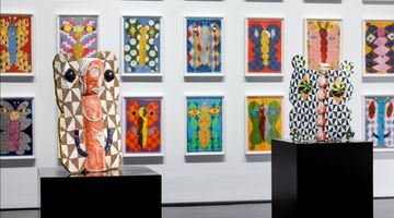 Contemporary art exhibition, Brendan Huntley, Without Within at Tolarno Galleries, Melbourne