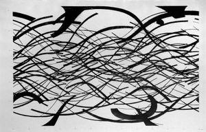 Thrown Shadows by Paloma Polo contemporary artwork