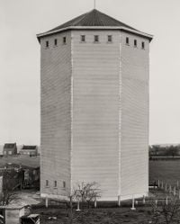 Water Tower [Wasserturm], Herve/Liège, B by Bernd & Hilla Becher contemporary artwork photography
