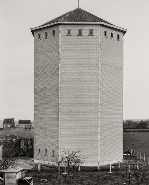 Water Tower [Wasserturm], Herve/Liège, B by Bernd & Hilla Becher contemporary artwork