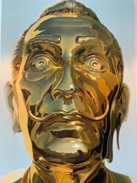 The golden age - Dali by Mike Dargas contemporary artwork print