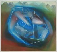 hirnhaus (geträumt) by Miriam Cahn contemporary artwork painting