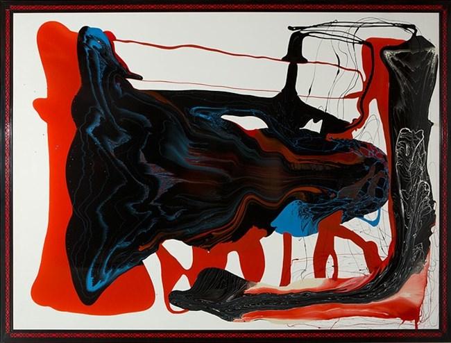 I am a genius by Dale Frank contemporary artwork