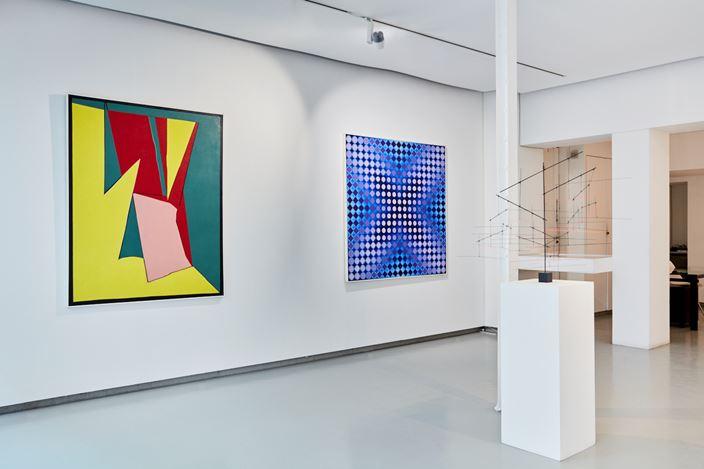Exhibition view: Group Exhibition, Colorful!, Galerie Denise René, Paris (16 July–3 October 2020). Courtesy Galerie Denise René.