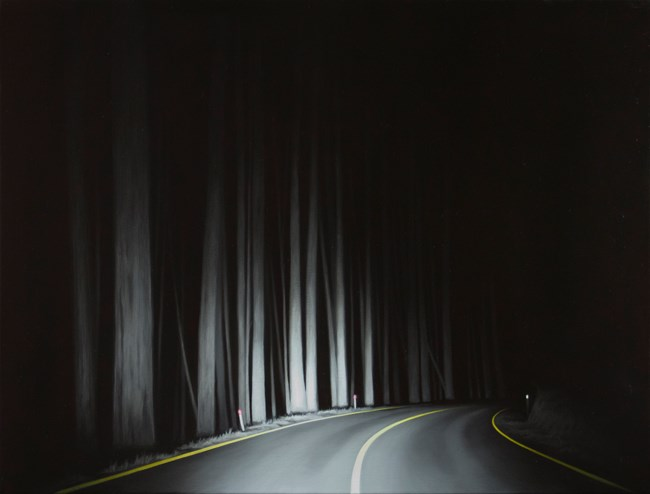 High Plains Road by Tony Lloyd contemporary artwork
