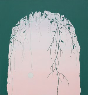 Cave and Moon by Viv Miller contemporary artwork