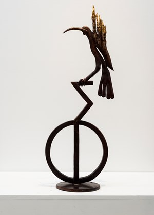 The Last Huia by Paul Dibble contemporary artwork