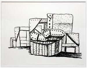 Studio Forms by Philip Guston contemporary artwork print