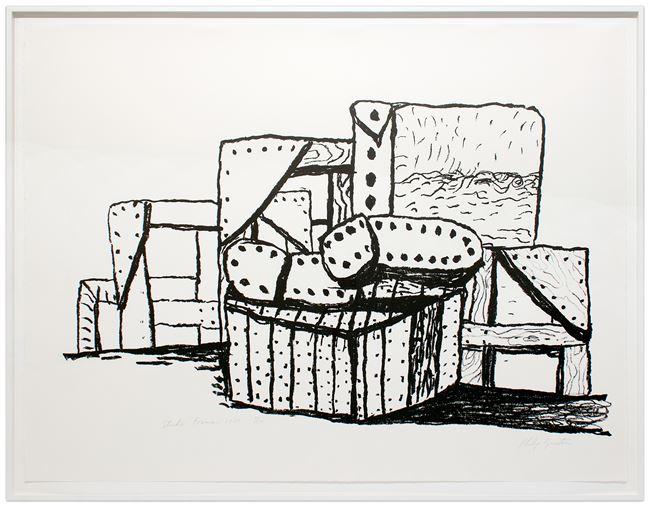 Studio Forms by Philip Guston contemporary artwork