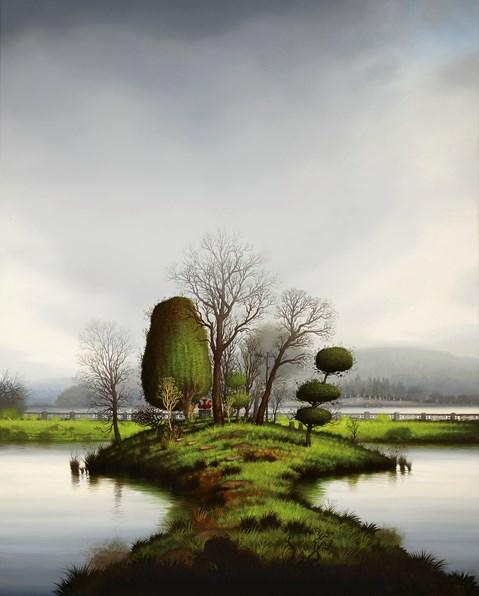 Swan Sculpture by Alexander McKenzie contemporary artwork