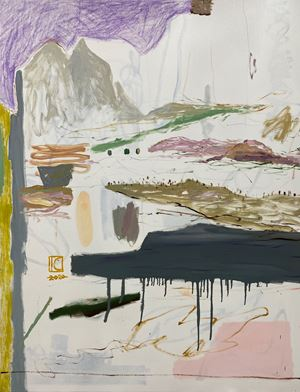 Sea scene no.6 (Coffee time) by I-Chin Liao contemporary artwork