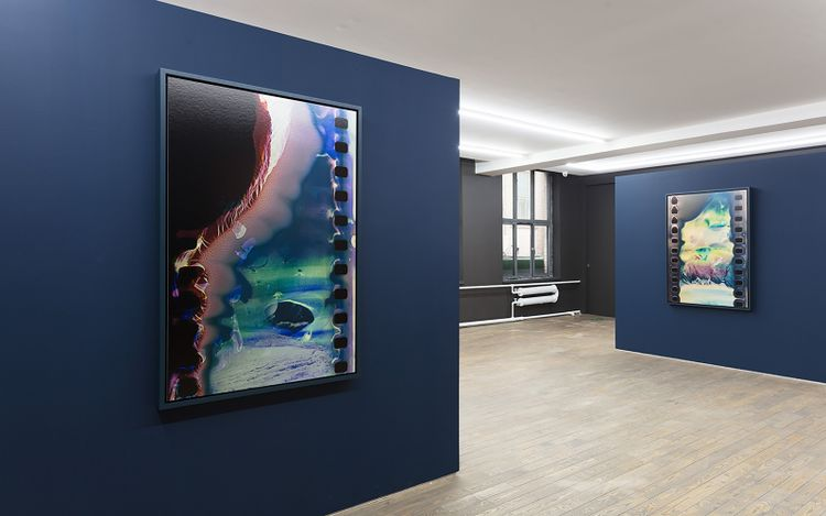 Exhibition view: Hu Weiyi, Geography of The Body, HdM GALLERY, Beijing (4 September–23 October 2021).CourtesyHdM GALLERY.
