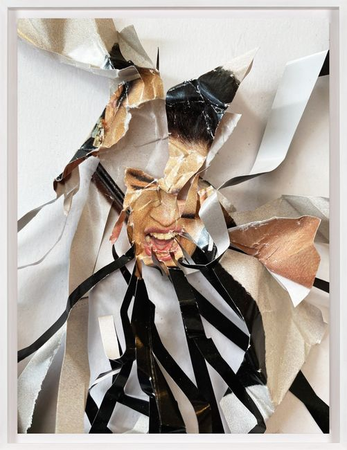 Untitled (Shreds) by Christian Marclay contemporary artwork