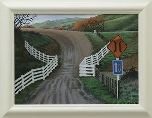 One Way by Dick Frizzell contemporary artwork
