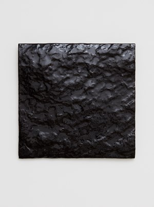 Untitled (Black Earth) by Mary Corse contemporary artwork