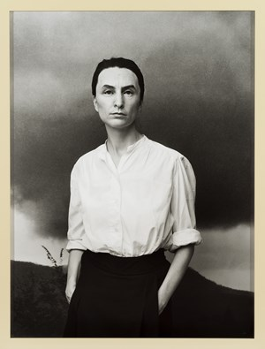 Me as O'Keeffe by Gillian Wearing contemporary artwork