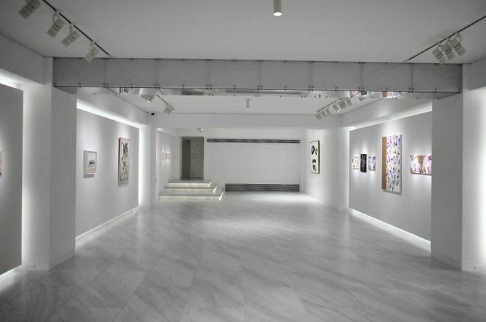 Exhibition view: Group exhibition, Linework, √K Contemporary, Tokyo (28 August–20 September 2021). Courtesy√K Contemporary.