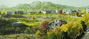 Study of Green-Seoul-Vacant Lot-Songhyeon-dong 2 by Honggoo Kang contemporary artwork