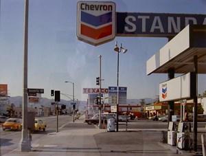 Beverly Boulevard and La Brea Avenue, Los Angeles, California, June 21 by Stephen Shore contemporary artwork