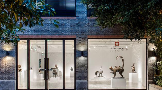 Galerie Dumonteil contemporary art gallery in Shanghai, China