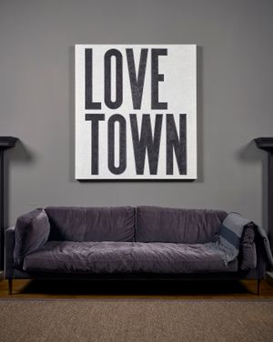 Love Town by David Austen contemporary artwork