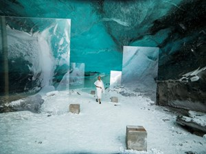 Stones Against Diamonds (Ice Cave) by Isaac Julien contemporary artwork