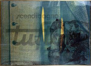 Tufi by Mimmo Rotella contemporary artwork