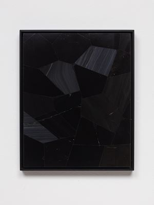 Obsidian Mirror IV.I by Prem Sahib contemporary artwork