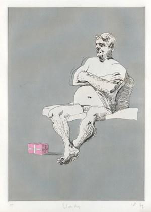 Lloydy by Ben Quilty contemporary artwork