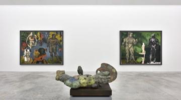 Contemporary art exhibition, Markus Lüpertz, Markus Lüpertz at Almine Rech, Rue de Turenne, Paris