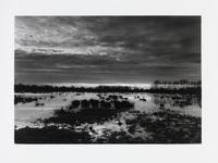 The Somerset levels at dusk by Don McCullin contemporary artwork photography