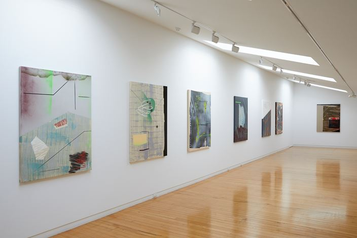 Exhibition view: Tira Walsh, illest, Two Rooms, Auckland (6 March–9 April 2020). Courtesy Two Rooms.